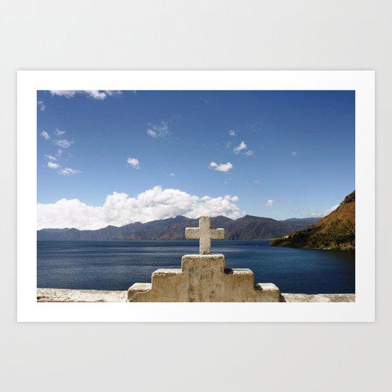 San Jorge, Guatemala.  Art Print