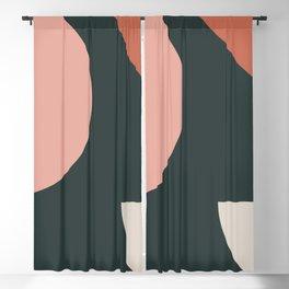 Orbit 01 Modern Geometric Blackout Curtain