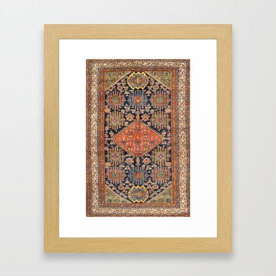 Hamadan  Antique West Persian Rug Print by vickybragomitchell