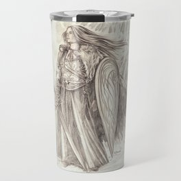 Shield Maiden of Avalon Travel Mug