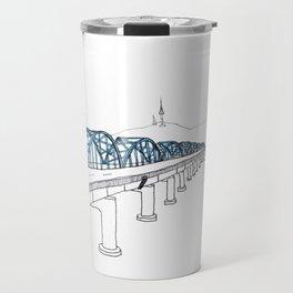 Dongjak Bridge in Seoul Travel Mug