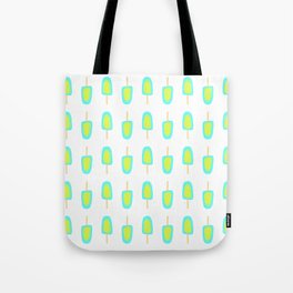 Lime & Lemon Popsicles Tote Bag