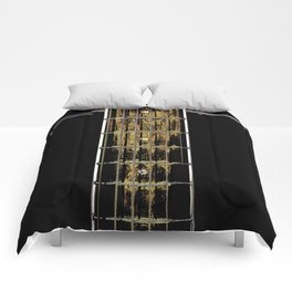 Abstract Acoustic Guitar Photograph  Comforters