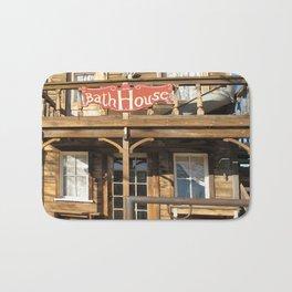 Vintage Western Wild West Hotel Bath House Bath Mat