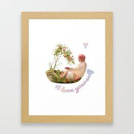 BTS Love Yourself Answer Design - V Framed Art Print