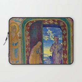12,000pixel-500dpi - Nicholas Roerich - The Messenger - Digital Remastered Edition Laptop Sleeve