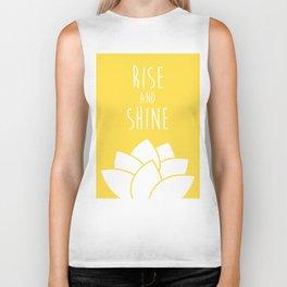 Rise and Shine Biker Tank