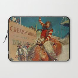 "N C Wyeth Western Painting ""The Rodeo"" Laptop Sleeve"