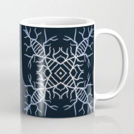 Diatom Snowflake Coffee Mug
