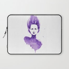 Purple Water Faery Laptop Sleeve