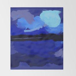 Loving Blue Throw Blanket