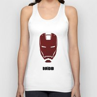 ironman Tank Tops featuring IRONMAN by agustain