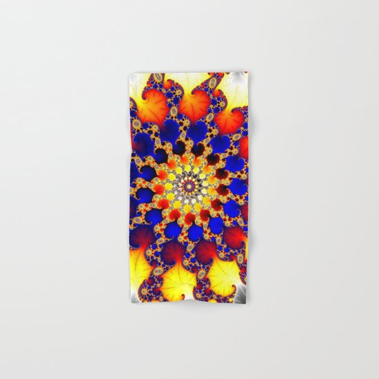 fire wheel Hand & Bath Towel