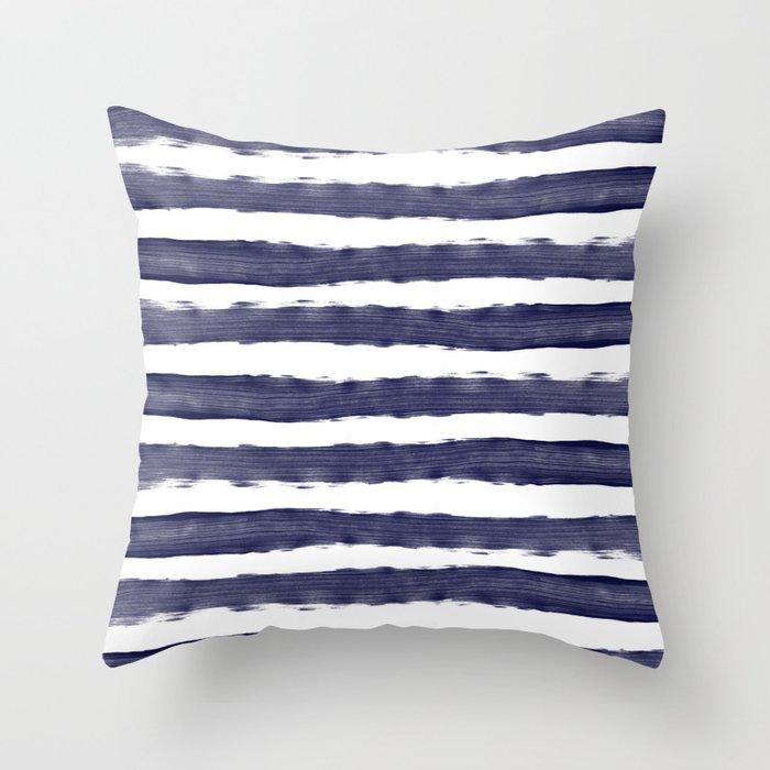 Blue White Stripe Stripes Marine Maritime Navy Sea