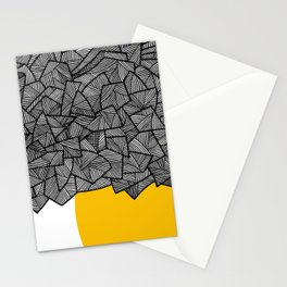 - burn - Stationery Cards
