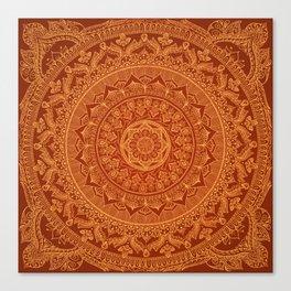 Mandala Spice Canvas Print