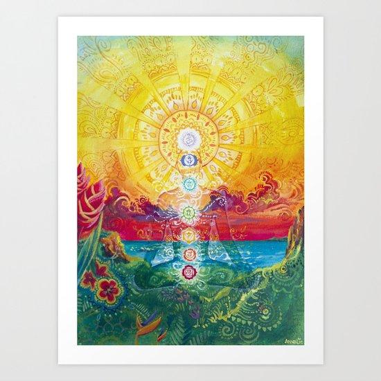 Sol Vibes Art Print
