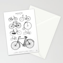 Collections - Bicyclettes Stationery Cards