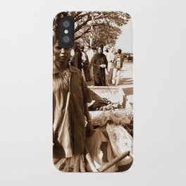 The cleaner woman - Streets of India iPhone Case