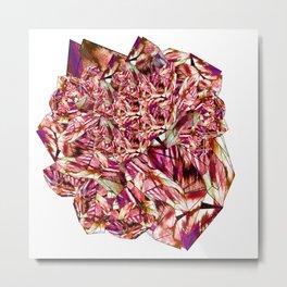 Crystal Ruby Red Gem Stone Metal Print