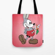 Mickey x Bugs Tote Bag