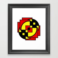 Morph The Power Framed Art Print