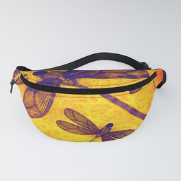 Radioactive dragonflies Fanny Pack