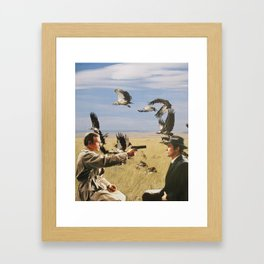 Only the Birds Knew Framed Art Print