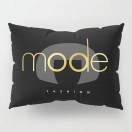 Edna Mode Fashion Dark Gold Pillow Sham