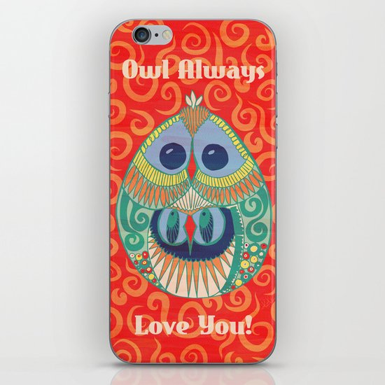 Owl Be There For You iPhone & iPod Skin