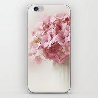 hydrangea iPhone & iPod Skins featuring Hydrangea by Ellen van Deelen