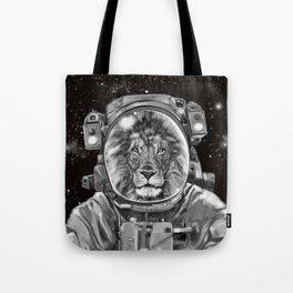 Astronaut Lion King Selfie Tote Bag