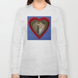 """Chats amoureux 1900, la partition"" / ""Lovers cats 900, the partition"" Long Sleeve T-shirt"