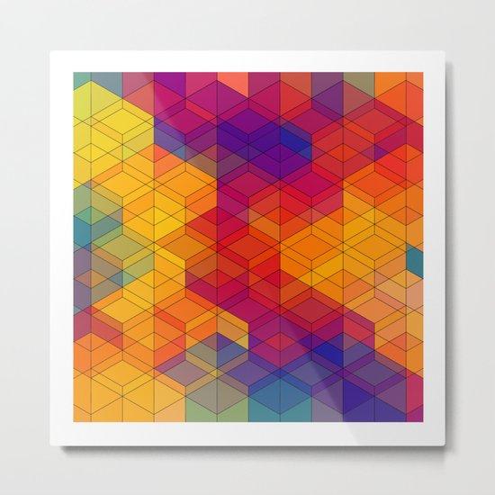 Cuben Intense No.1 Metal Print