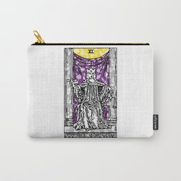Floral Justice Print Carry-All Pouch