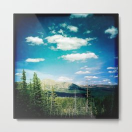 High Uinta Mountains by Shane J Cottle Metal Print
