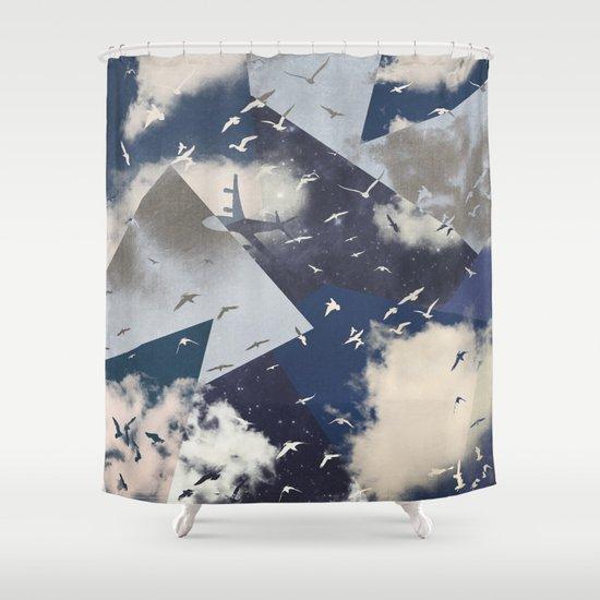 The Sky Shower Curtain