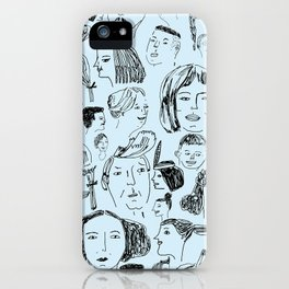 hair styles iPhone Case