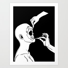 Torn Apart Art Print