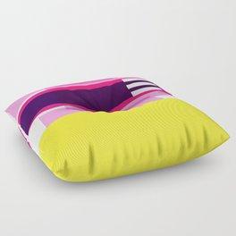 Bright Abstract II Floor Pillow