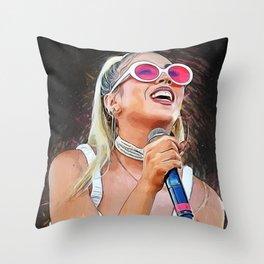 Kali Uchis Throw Pillow