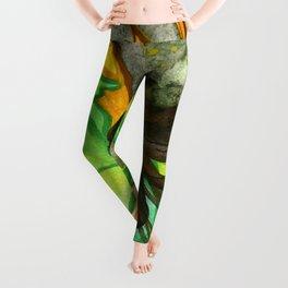 Elfrida The Brave Fairy Close-Up Leggings