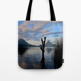 Sunrise at Lago Atitlan,Guatemala Tote Bag