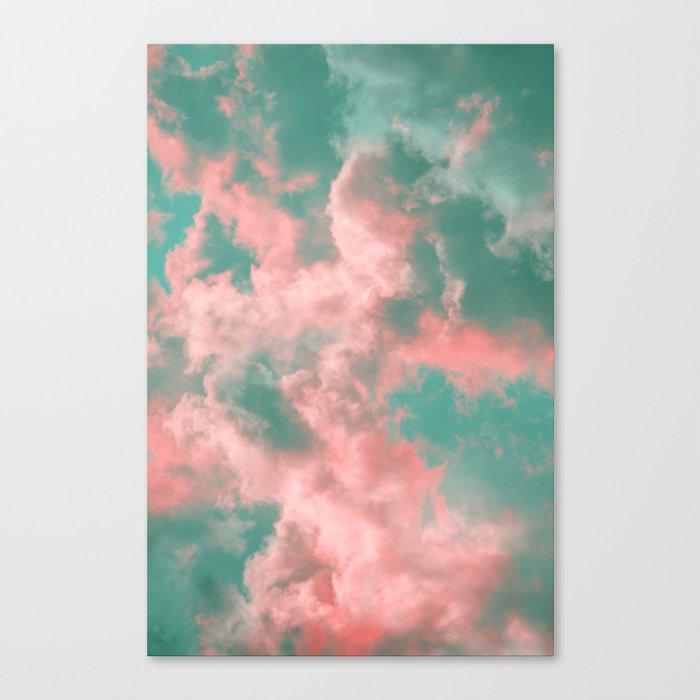 Watermelon Sunset Canvas Print