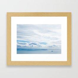 Island Blues Framed Art Print