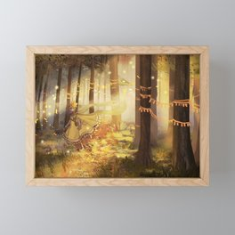 Fairy Woods Framed Mini Art Print