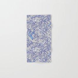 Squids of the inky ocean Hand & Bath Towel