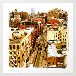 Chinatown View Art Print