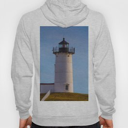 Cape Neddick Nubble Lighthouse York Maine Hoody