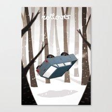 Rollover Canvas Print